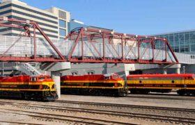 Región Laredos estrenará puente ferroviario